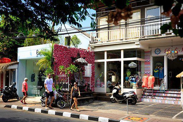Seminyak, Bali Retreat - street life and shopping