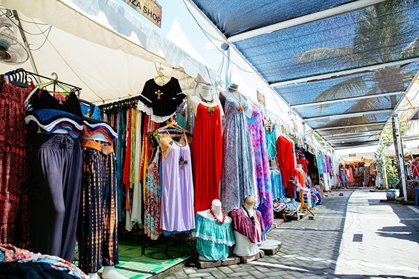 Women's shopping in Seminyak, Bali