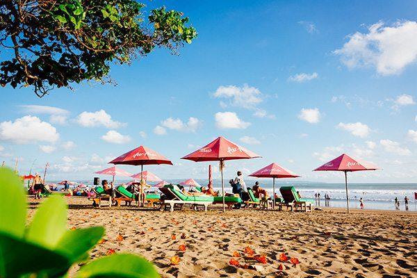 Blissful beach at Women's Retreat - Seminyak Bali
