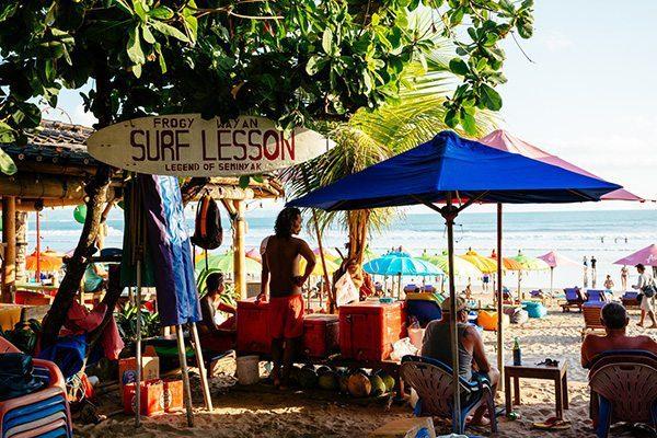 Surf and Beach at Women's Retreat - Seminyak Bali
