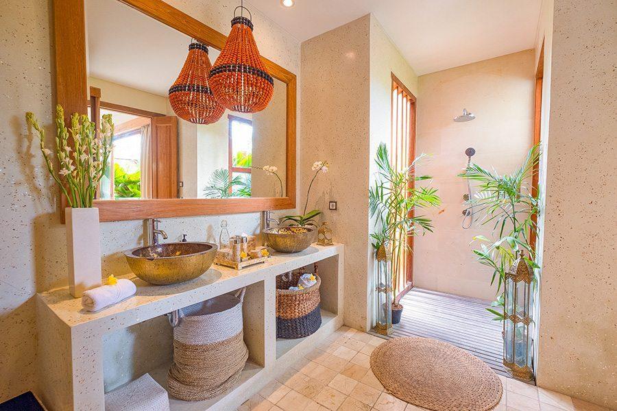 Stunning luxury bathroom, Bali retreat, Bliss Sanctuary For Women, New Canggu Sanctuary