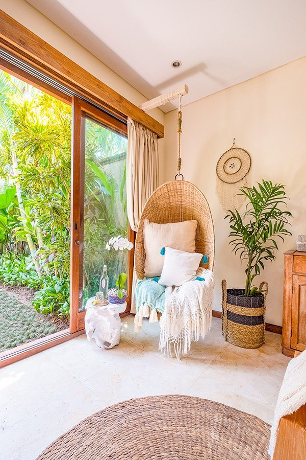 Beautiful bedroom, Bali retreat, Bliss Sanctuary For Women, New Canggu Sanctuary