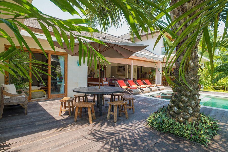 Relaxing in blissful outdoor area, Bali retreats, Bliss Sanctuary For Women, New Canggu Sanctuary