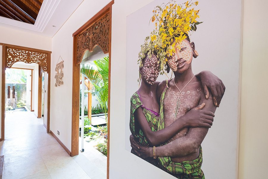 New Canggu Sanctuary, Bali retreats, beautiful artwork, women's retreat, Bliss Sanctuary For Women