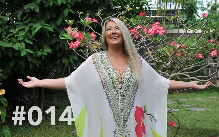 Bliss Sanctuary Bali - Blog 14 - a Day in the Life of a Bliss Hostess: Zoë Watson with arms outstrectched