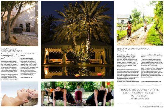 Bloc Magazine: Bliss Sanctuary For Women – Kuta, Bali