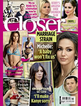 "Closer: Josie Gibson: I get ""fat fear"" and weight myself every day"