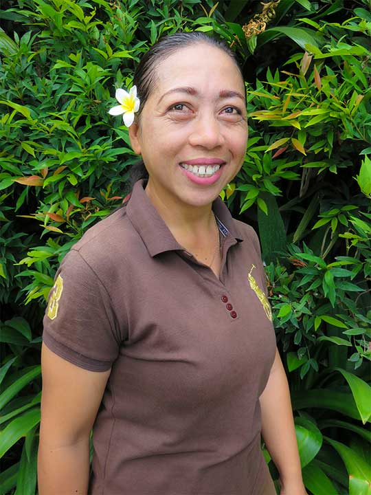 Our people: Nur is the newest member in our gardening team at Bliss Sanctuary for Women