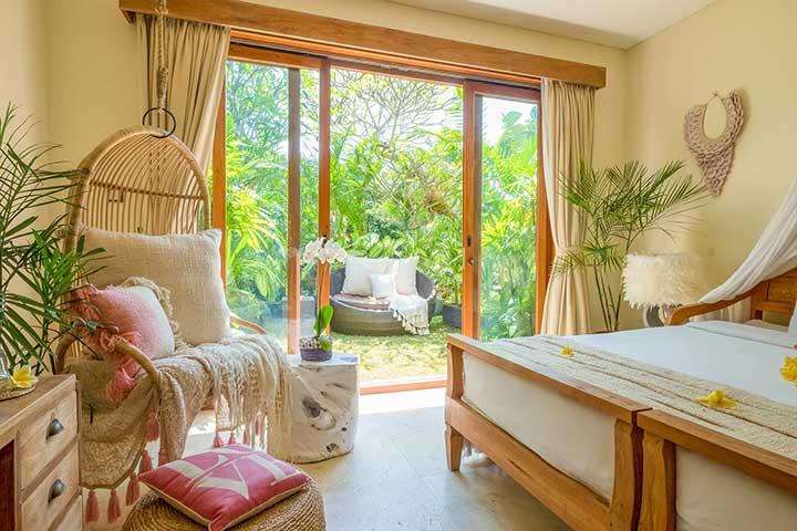 Beautiful bedroom, Bali retreat, Bliss Sanctuary For Women, New Canggu Sanctuary
