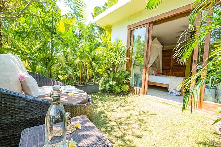 Relaxing outdoor area, Bali retreats, Bliss Sanctuary For Women, Canggu, Bali