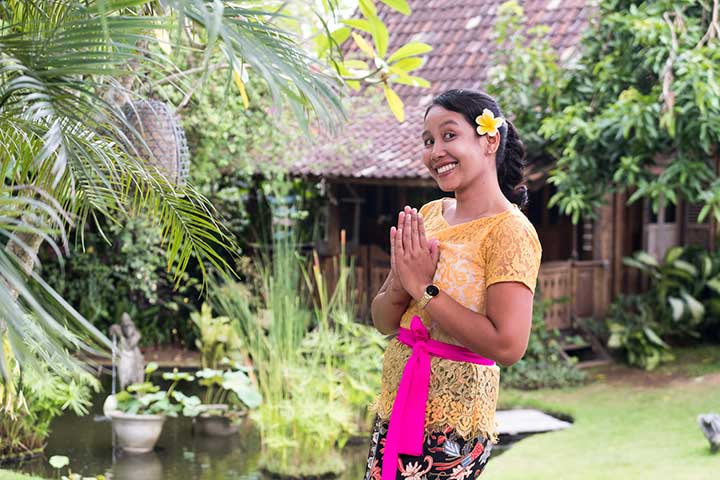 Gorgeous Riani is a new addition to our Kitchen staff at Bliss Canggu