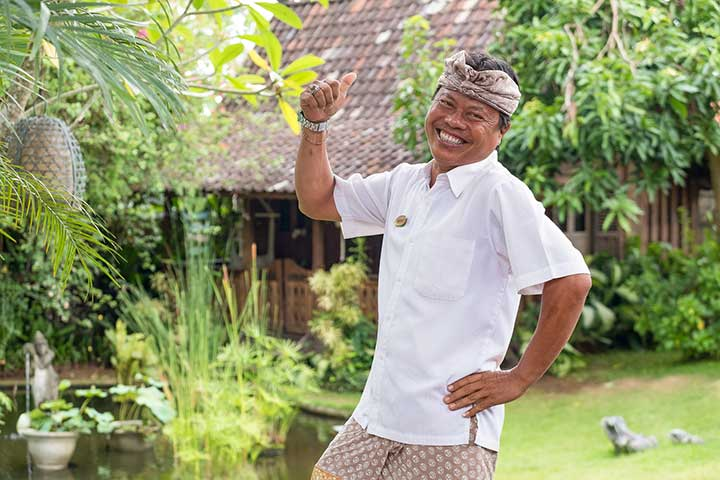 Ketut is our Main Driver and just one of the many lovely faces at our beautiful Bliss Bali Womens Retreat