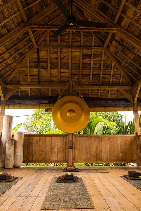 Yoga shala at Bliss Sanctuary for Women, Canggu, Bali