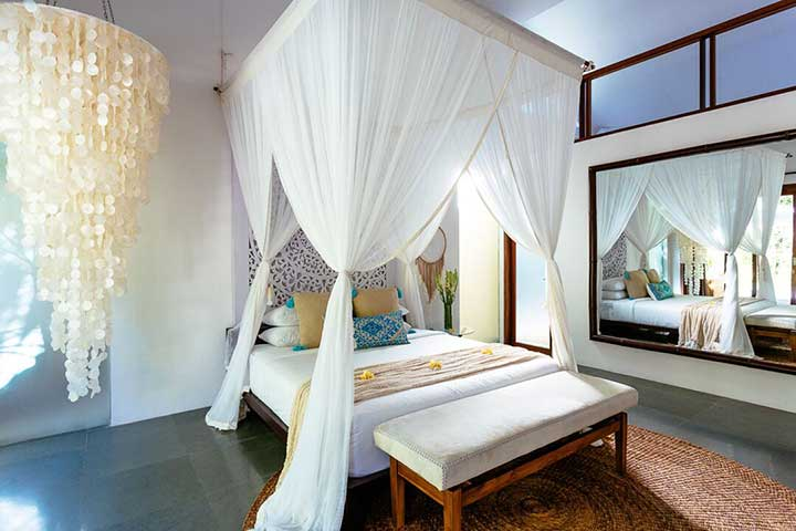 KIng Deluxe Pool Room with Loft - at Bliss Seminyak Womens Retreat in Bali