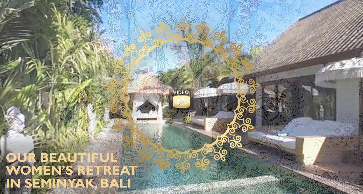 The beautiful pool area at Bliss retreat Seminyak -  Click to play video