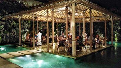 Bambu Restaurant in Seminyak Bali