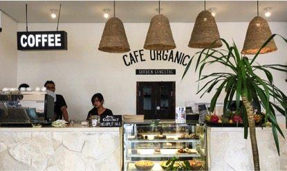 Cafe Organic Restaurant in Canggu Bali