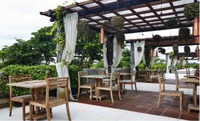 Copper Restaurant in Ubud Bali