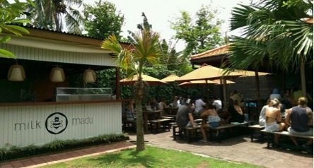 Milk and Madu Restaurant in Canggu Bali