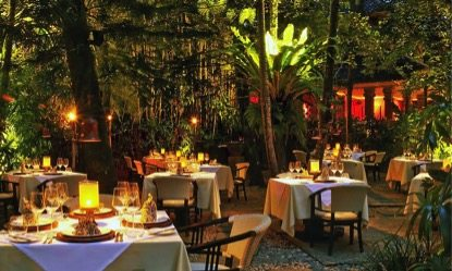 Mosaic Restaurant in Ubud Bali