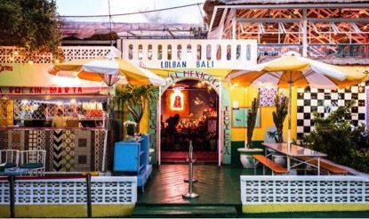 Motel Mexicola Restaurant in Seminyak Bali
