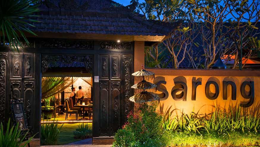 Sarong Restaurant in Seminyak Bali