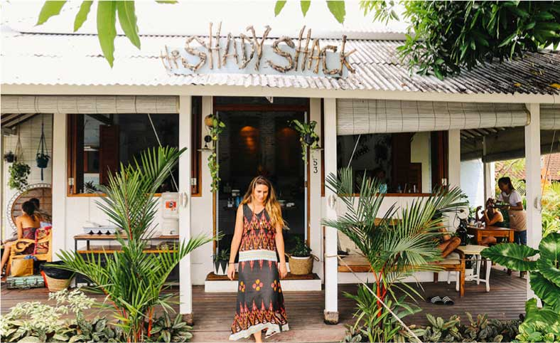 The Shady Shack Restaurant in Canggu Bali