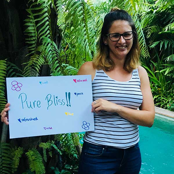 Bliss n Tell - Real women experience Pure Bliss at Bliss Sanctuary Bali Retreat