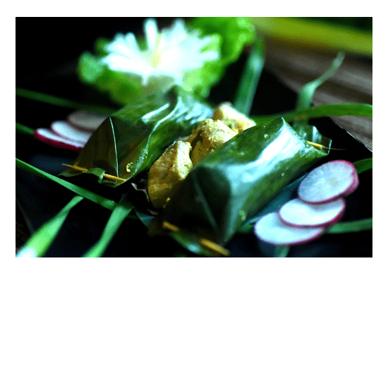 Delicious food available all day at Bliss Bali Retreat - Ayam Betutu
