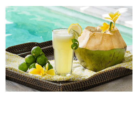 Bliss Retreat Bali Smoothies - Healthy Lemonade Spritzer