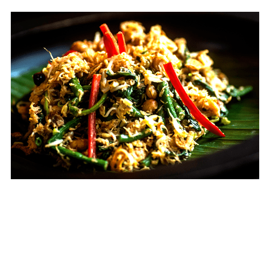 Delicious Healthy Food is unlimited at Bliss Bali Retreat -Jukut Urab