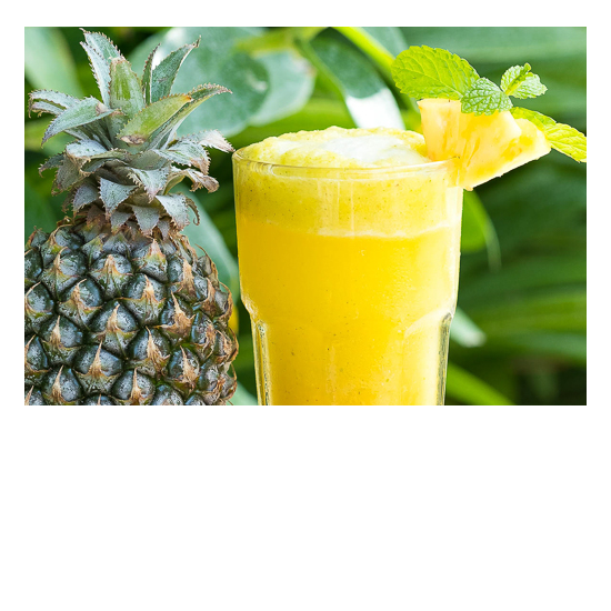 Bliss Retreat Bali Smoothies - Pineapple Sensation