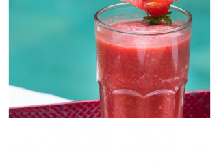 Bliss Retreat Bali Smoothies - Strawberry Seduction