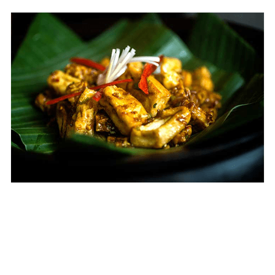 Tempe Tahu Manis - Unlimited Fresh Healthy food at Bliss Bali retreat