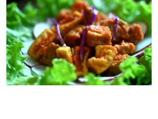 Tempe Tahu Sauce Tomat - Healthy Choices Menu at Bliss Retreat