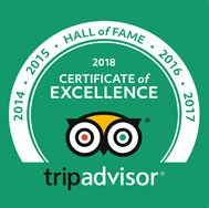 Trip Advisor 2018 Hall of Fame - Bliss Sanctuary For Women