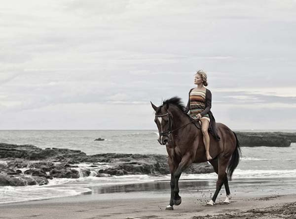 horse riding in Bali, things to do Bali, girl riding horse on the beach
