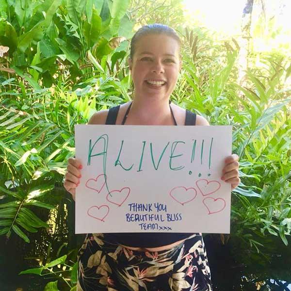 I feel Alive at Bliss Bali Women Retreat - Thank you beautiful Bliss team