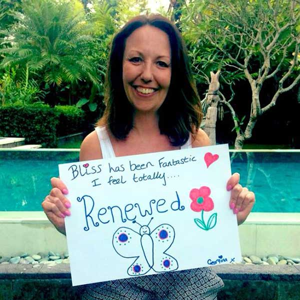 Real women feel Renewed at Bliss Bali Retreat