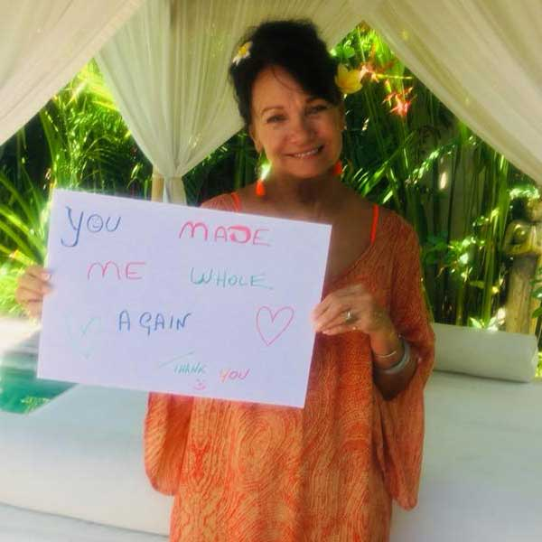 You made me whole again, thank you Bliss Bali Retreat for Women