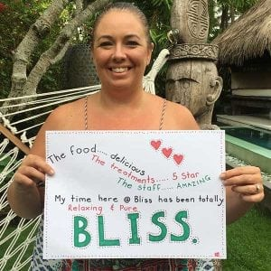 Real women feel Bliss and love everything at Bali Wellness Retreat