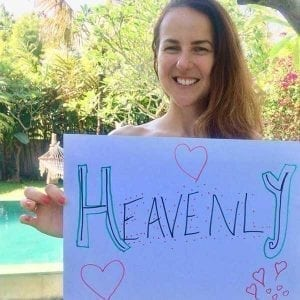 Real Women feel Heavenly and at Bliss Bali Retreat