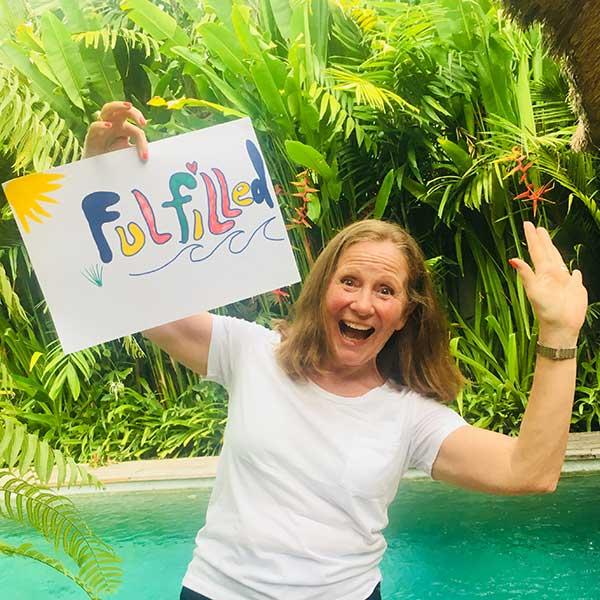 Real women feel Fulfilled at Bliss Bali Retreat