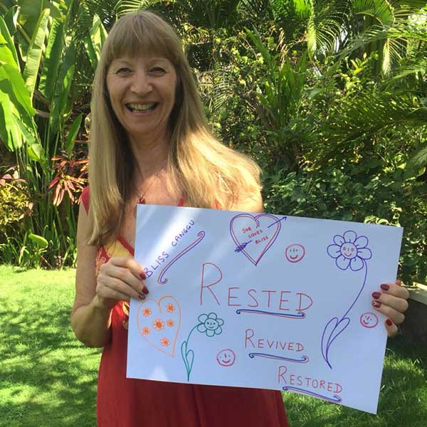 Real women feel Rested, Revived and Restored at Bliss Bali Sanctuary For Women