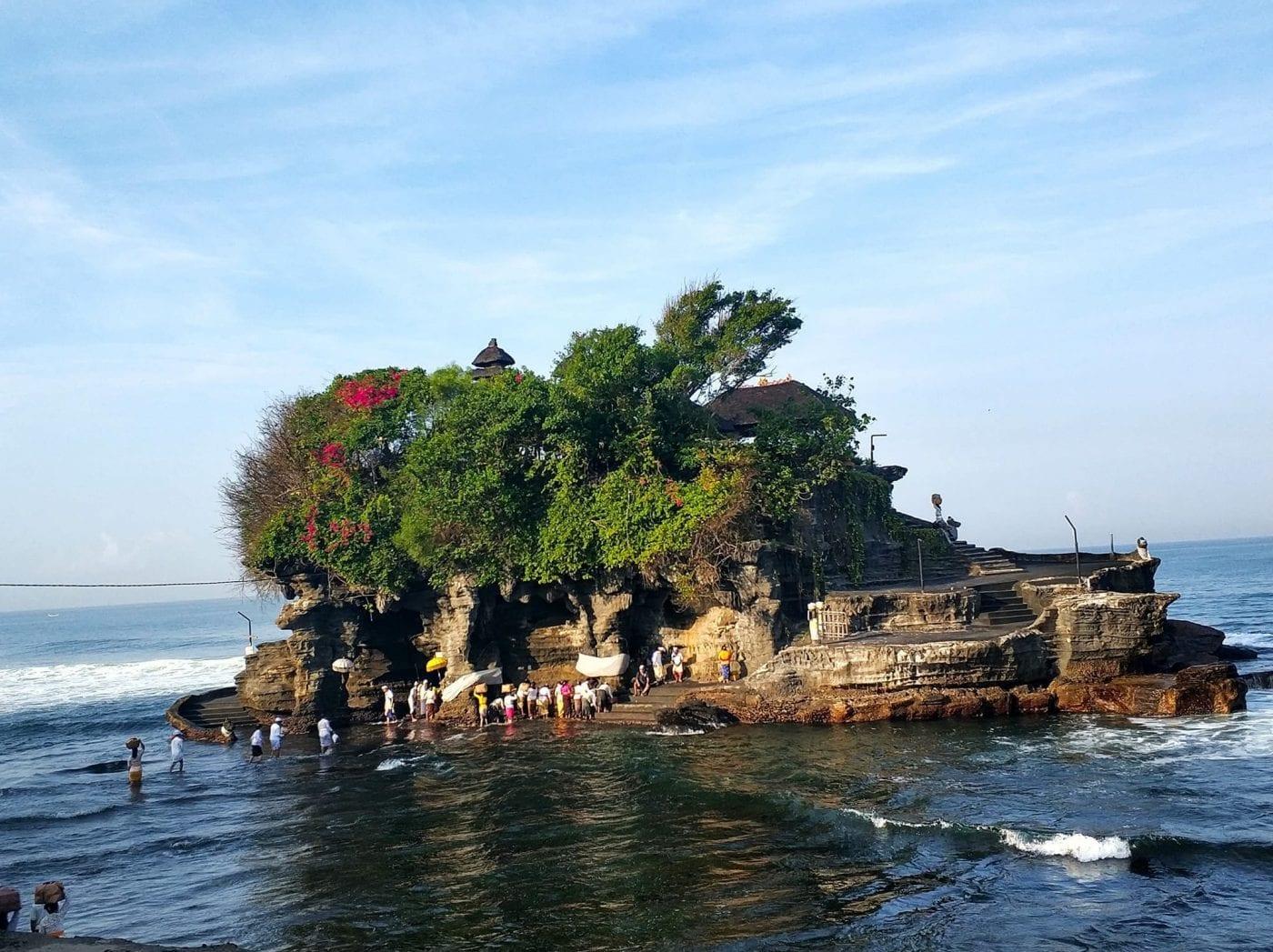 Tanah Lot Temple Bali sightseeing