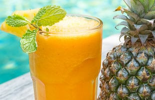 bliss retreat recipe - mellow yellow smoothie