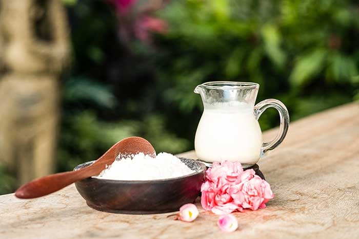 luxury milk bath in bali retreats