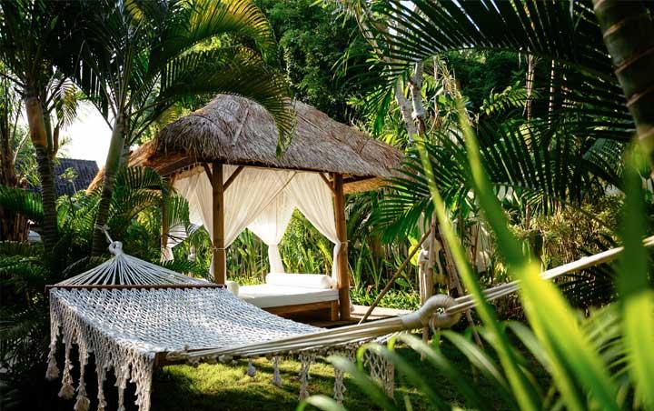 bliss bali retreat hammock relaxation