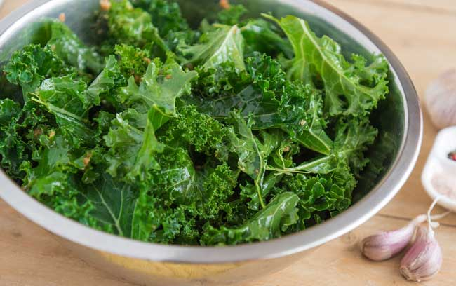 kale - good for mental health