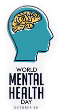 world mental health day logo
